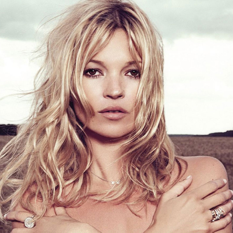 Kate Moss – fama, escândalos e rock and roll